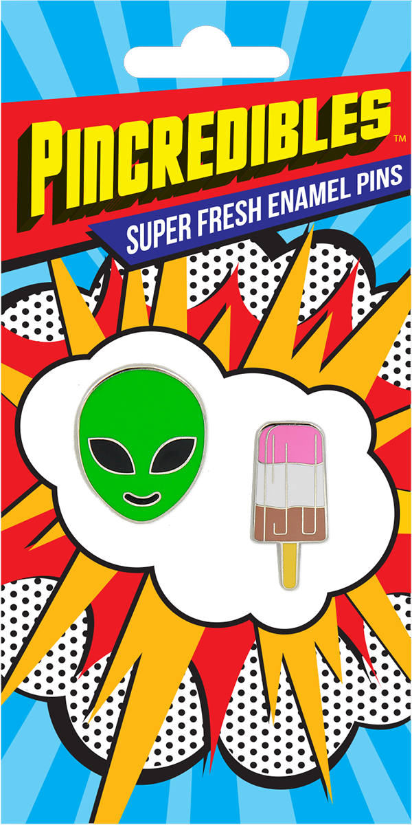 Pincredible Pins Alien Face & Popsicle Pin
