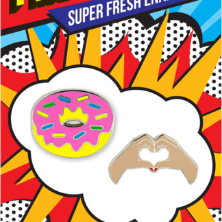 Pincredible Pins Donut & Love Hands