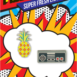 Pincredible Pins Video Game Controller & Pineapple