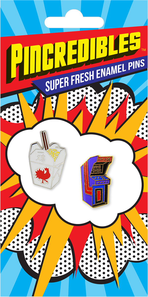 Pincredible Pins Chinese Take-out Box & Arcade Game