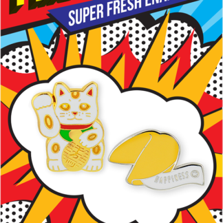 Fortune Cat Fortune Cookie Pincredibles Card