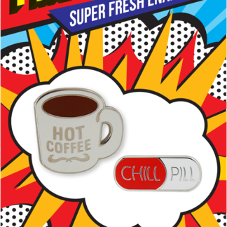Pincredible Pins Hot Coffee Mug & Chill Pill
